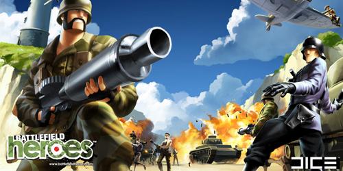 actionspiel Battlefield Heroes